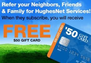 HughesNet Refer a Friend